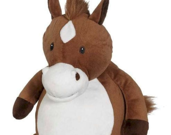 HOWIE Embroidered Plush Horse