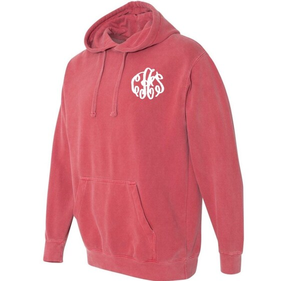 COMFORT COLORS HOODIE with monogram