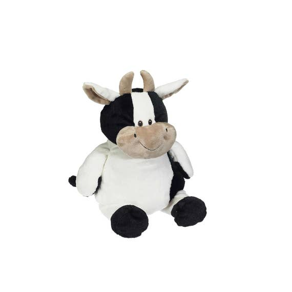 CHARLIE Embroidered Plush Cow