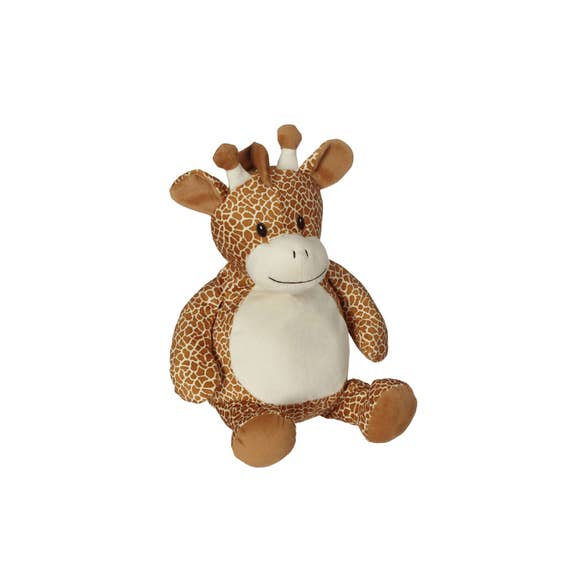 GEOFFREY Embroidered Plush Giraffe