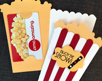 Movie Gift Card holder Anniversary gift Gift for family Movie Lover gift  Co-worker gift Welcome gift Anniversary Special Occasion gift