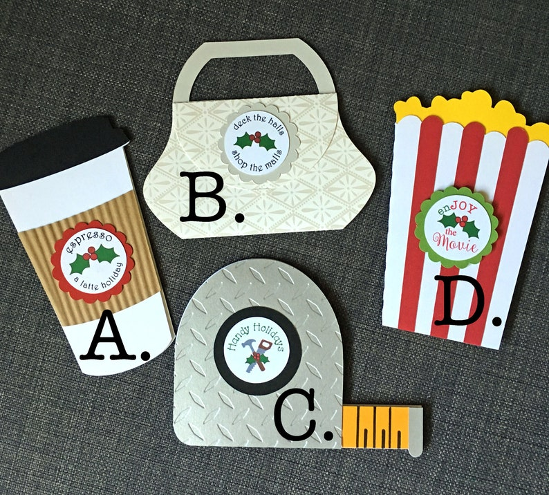 HOLIDAY gift card holders for everyone:  Coffee shop image 0