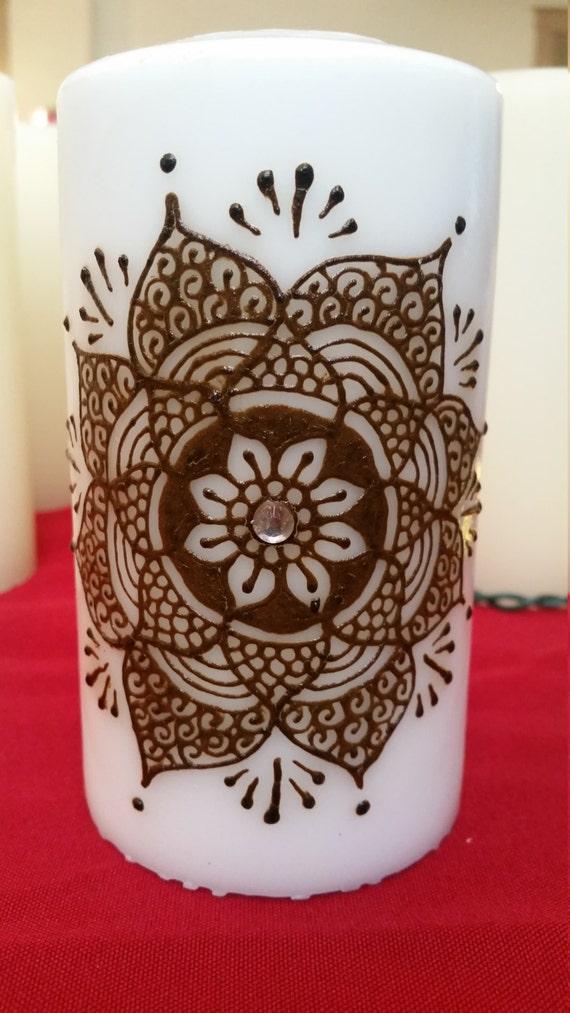 Henna Candle Etsy