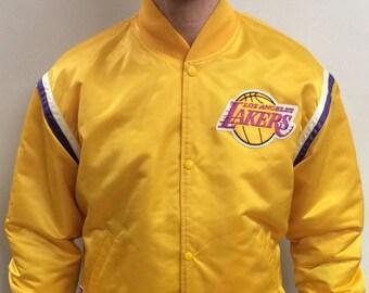45f3eae22 Lakers jacket | Etsy