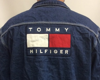 Tommy Hilfiger Jacket Etsy