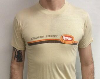 2fdea8845 Vintage 80's Tyson Foods Company