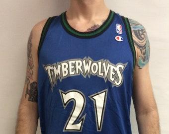 c3c8f9f3c689 Vintage 90 s Minnesota Timberwolves