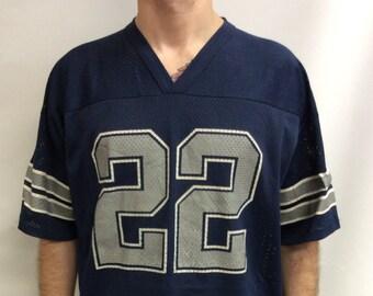 a33dfb23dea Vintage 90's Original Dallas Cowboys #22
