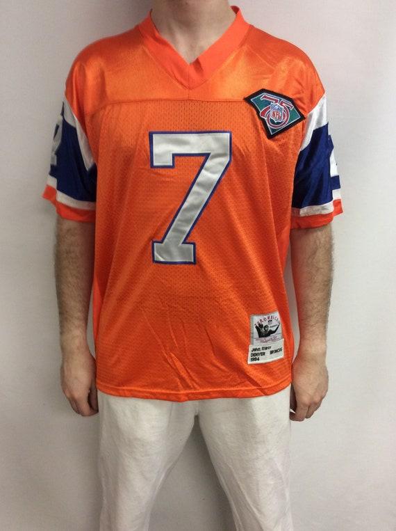 "90's Denver Broncos ""John Elway"" #7 Mitchell & Nes"