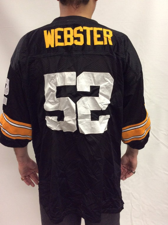 Pittsburgh Steelers Mike Webster 52 1975 Throwbacks XL  20afab467