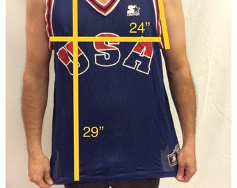 Starter USA Basketball Jersey XL
