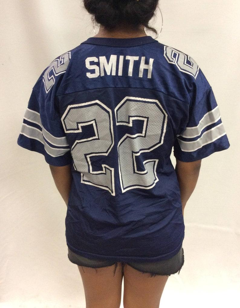 best service c3721 614bc Vintage Emitt Smith Dallas Cowboys Jersey Youth XL