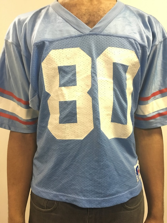 c987b5af4 Houston Oilers RARE Vintage Russell Athletic 80 Jersey M