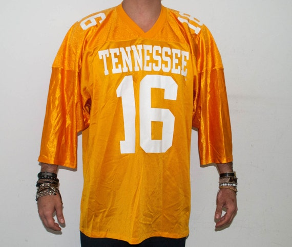 cd5d437fc SALE Rare Vintage Peyton Manning 16 Home Tennessee Jersey