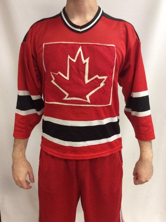 "Vintage 90's Canadian ""Canada Maple Leafs"" NHL Hoc"