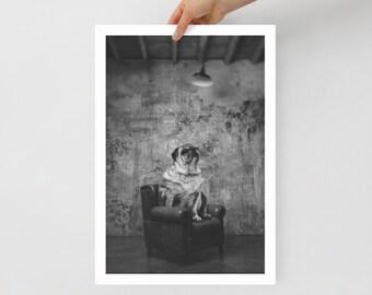 Gentleman's Room / Art Framed poster