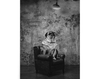 Gentleman's Room / Art poster