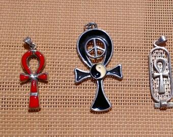 Ankh cross pendant eternal life egyptian