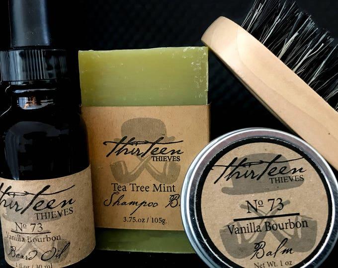Featured listing image: Shampoo Bar Beard Kit
