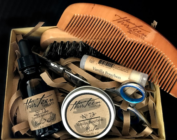 Featured listing image: Ultimate Essentials Beard Grooming Kit