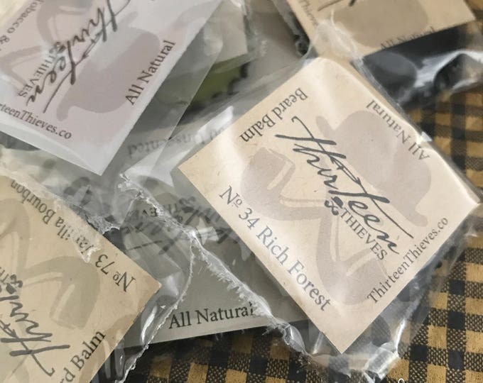 Featured listing image: Beard Balm Scent Testers
