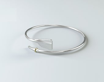 Rowing Jewelry Bracelet Rowing in 925 Sterling Silver / Rowing Gift