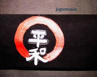 Tu nombre en japonés en cintas japonesas hachimaki personalizadas.