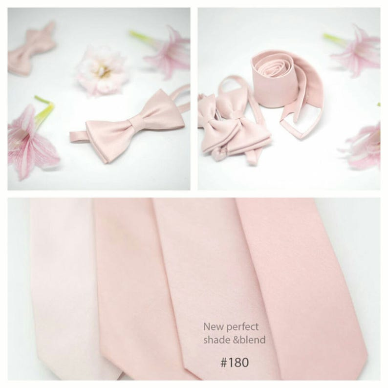 8ee1697bf164 No18016914864 semi shiny Eden blush tiespink | Etsy