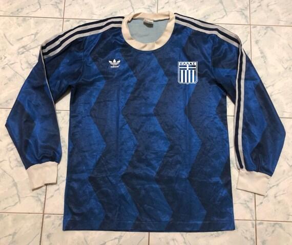 Greece 1987-1989 Soccer Jersey Football Shirt Trik