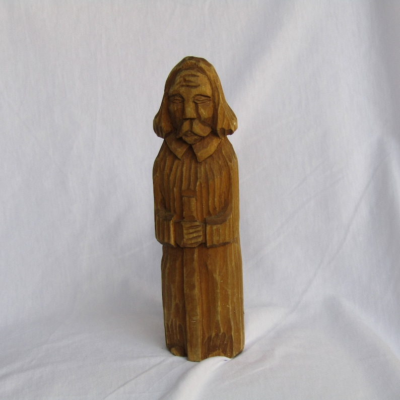 55b8d4731ce wooden male figure sculpture, Vintage sculpture, wood art, wooden decor,  antique sculpture, wooden sculpture man, vintage wooden decor