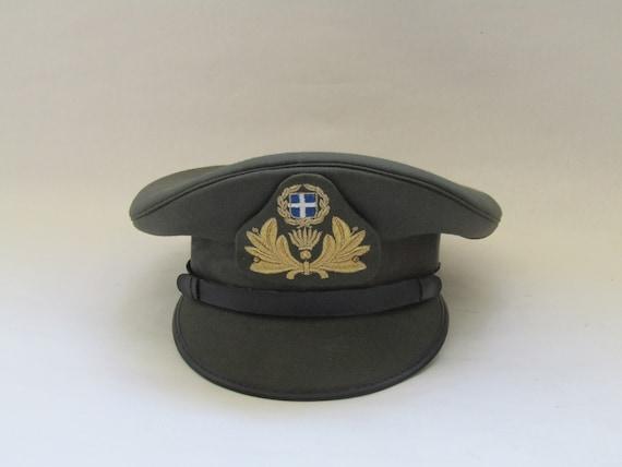 military hat vintage, Vintage military hat, colle… - image 3