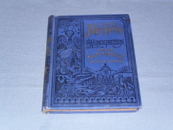 1920s Antique Dutch Book 20000 Mijlen Onder Zee Etsy
