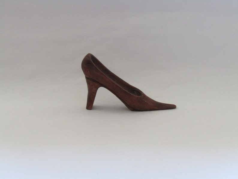 9a12609a693 Vintage wooden high heels shoe! housewarming keep shake! Wooden sculpture,  vintage wooden sculpture, woman shoe sculpture.