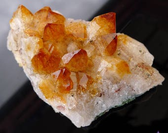 CITRINE CRYSTAL CLUSTER - from Brazil