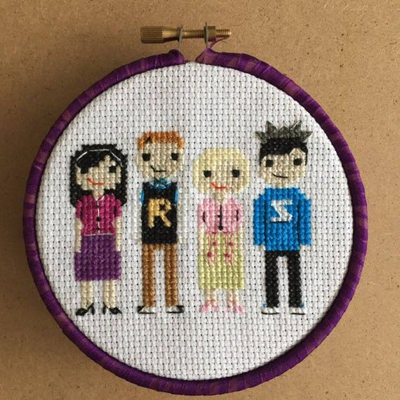 Trio Of Riverdale Cross Stitch Pdf Patterns