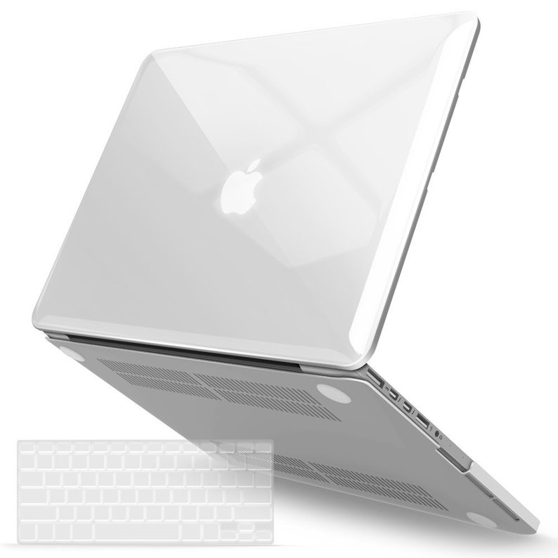 best cheap c2b9c fd346 Crystal Transparent Plastic Hard case for MacBook Air 13