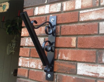 Wrought Iron Flag Holders