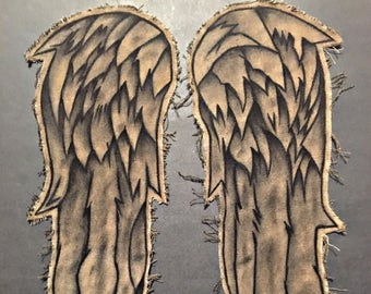 Daryl Dixon Angel Wings Only - SEASON 7