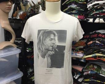 af5a4cdc6 Vintage Kurt Cobain Memorial Tshirt The Year Punk Broke Nirvana Grunge Rock  Alternative Rare