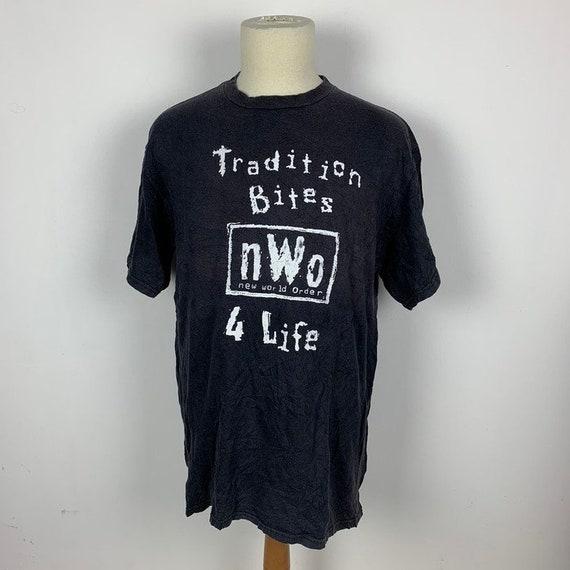 Vintage NWO Wwf Tshirt Wrestling Wwe