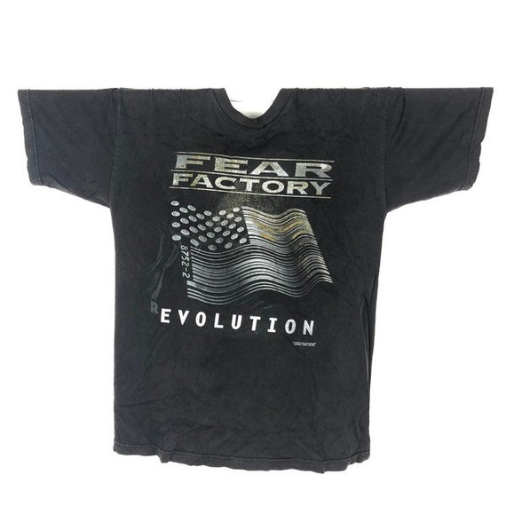 Vintage 90s Fear Factory Band Tshirt