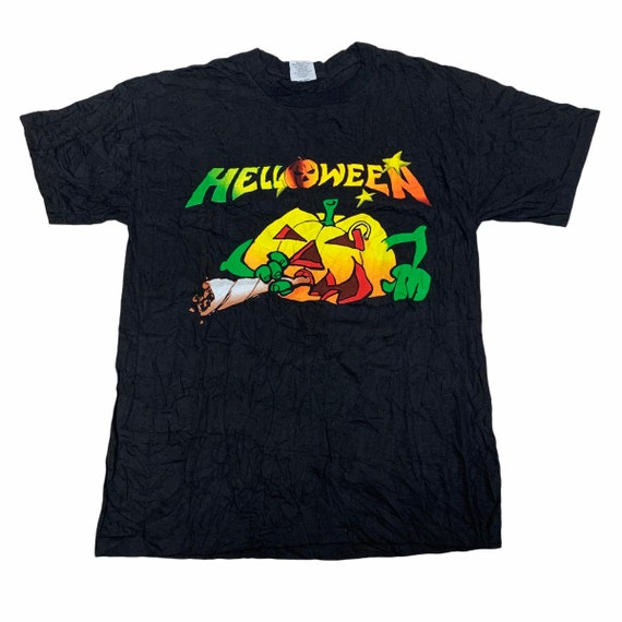 Vintage Helloween Band Tshirt