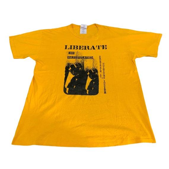 Vintage Liberate Japan Band Tshirt