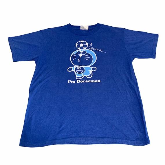 Vintage Doraemon Cartoon Tshirt