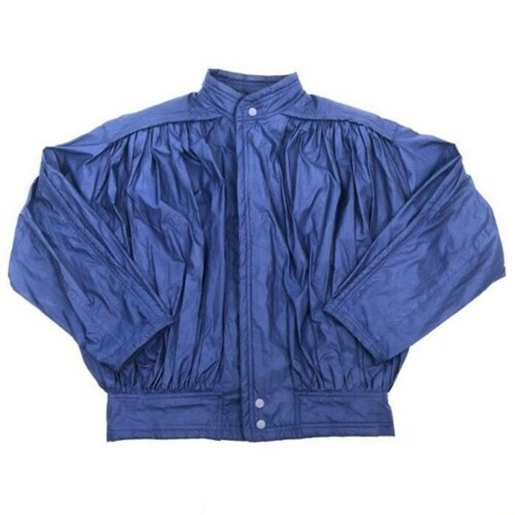 Vintage Issey Miyake Parachute Bomber Pleats Jacke