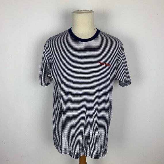 Vintage Polo Sport Striped Tshirt