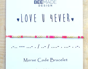 Mothers Day Gift For Mom Love You Bracelet Mother From Daughter Girlfriend Boyfriend Wife Birthday Gifts Husband Crush