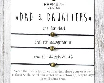Fathers Day Gift For Dad From Daughters Birthday Father And 2 Daughter Jewelry