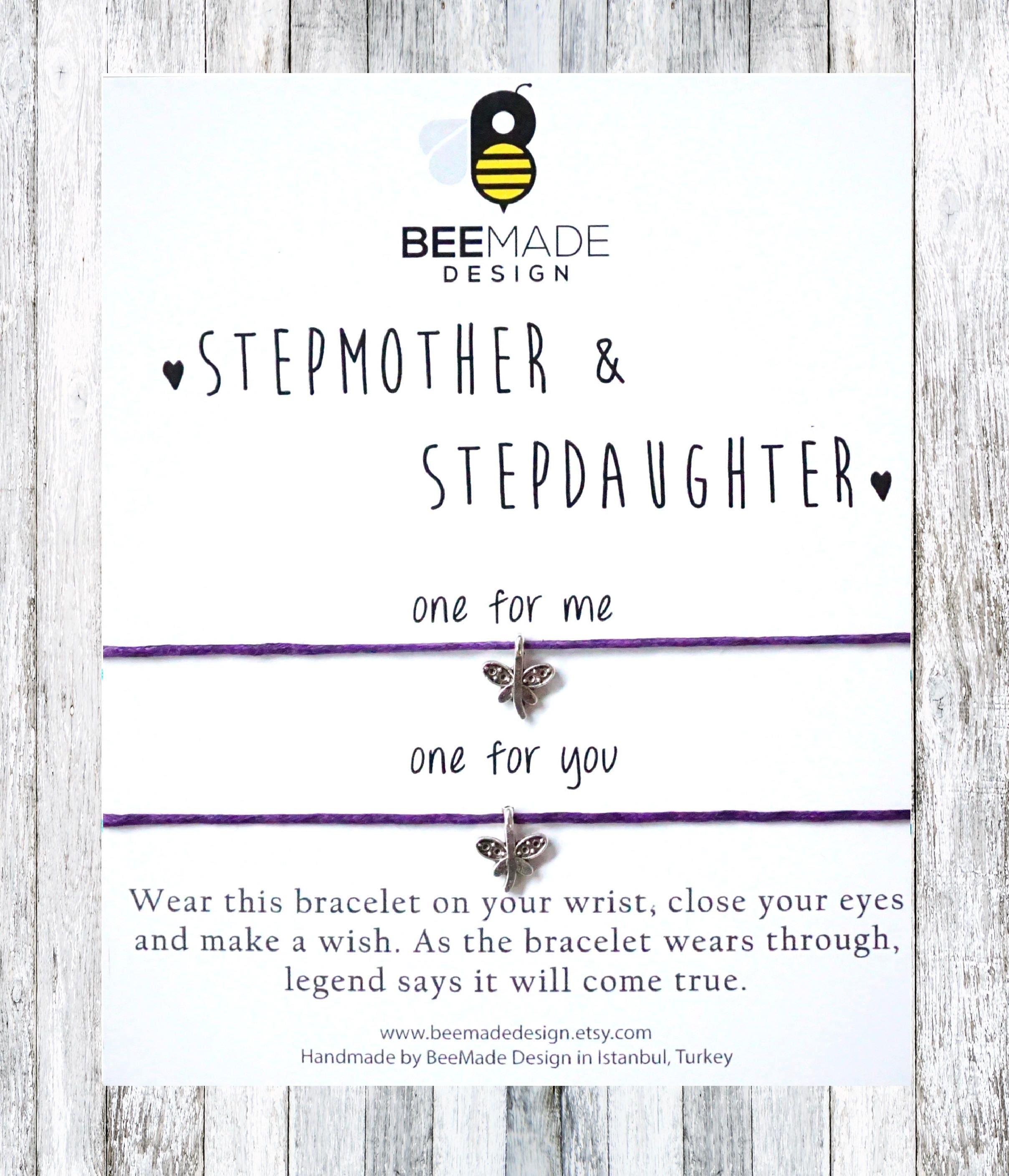 Schritt Mutter Schritt Tochter passende Armbänder für 2 | Etsy