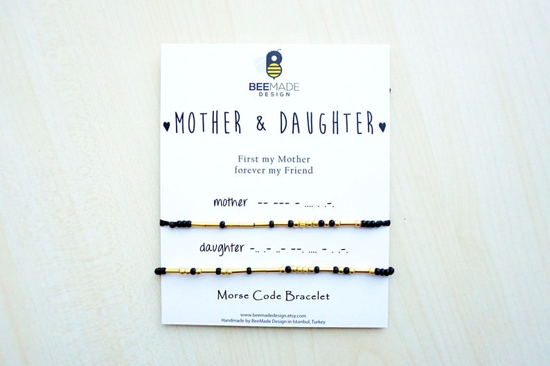 Mothers Day Gifts From Daughter Matching Bracelets For Mother